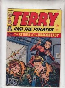 Terry and the Pirates #17 (Aug-49) VF+ High-Grade Terry