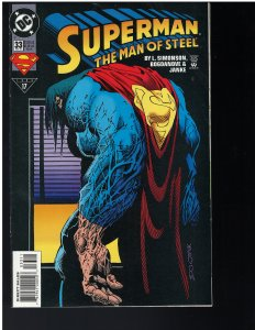 Superman: Man of Steel #33 (DC, 1994)