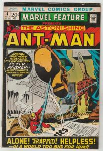 Marvel Feature presents Ant-Man, The Astonishing #4 (Jul-72) GD/VG Affordable...
