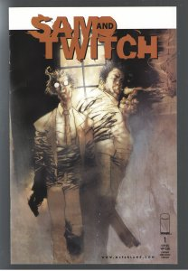 SAM AND TWITCH #1 VFNM;OPTIONED FOR TV!!!!!!