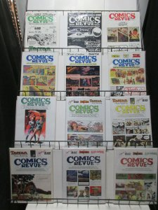 Comics Revue #104-280 Lot of 18Diff Spider-Man Steve Canyon Modesty Blaise