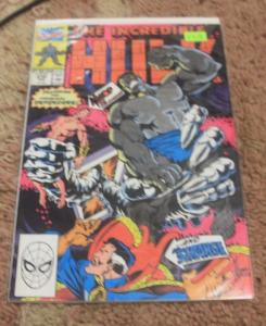 incredible Hulk  # 370 Jun 1990, Marvel dr strange + Grey hulk DEFENDERS