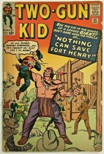 TWO-GUN KID#65 GD 1963 MARVEL SILVER AGE COMICS