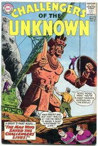 CHALLENGERS OF THE UNKNOWN #31 1963-DC COMICS  SCI-FI FN-