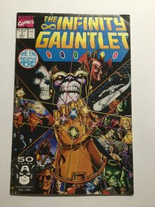The Infinity Gauntlet 1 Near Mint Nm Marvel