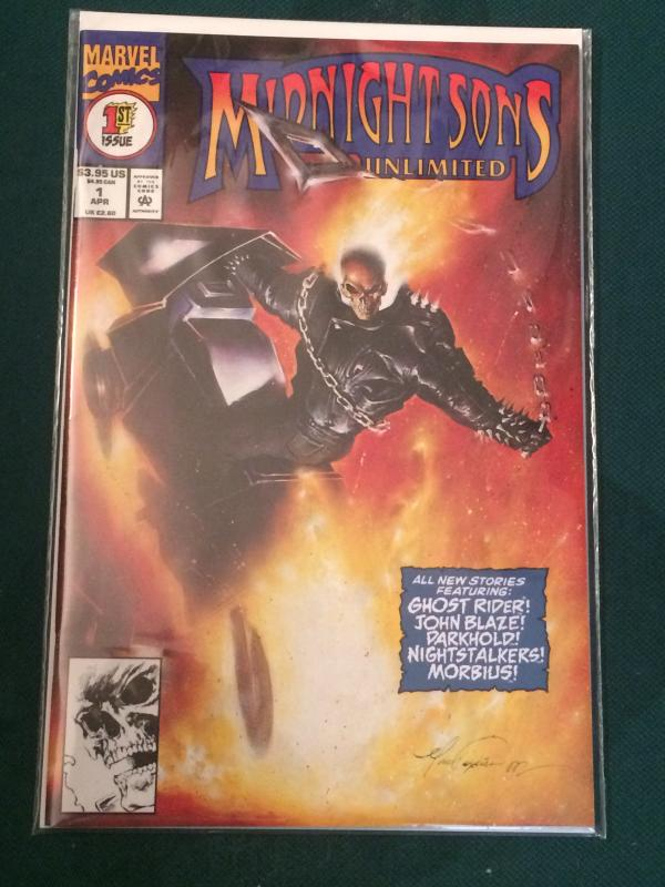 Midnight Sons Unlimited #1