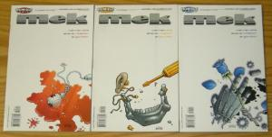 Mek #1-3 VF/NM complete series - warren ellis - homage comics set lot 2