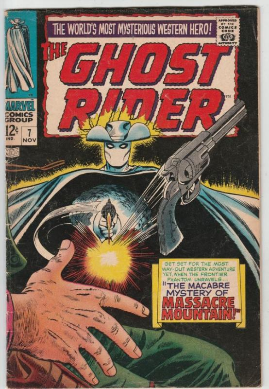 Ghost Rider, The Western #7 (Nov-67) FN+ Mid-High-Grade Ghost Rider
