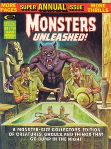 Monsters Unleashed Annual #1 (ungraded) stock photo / ID#001D