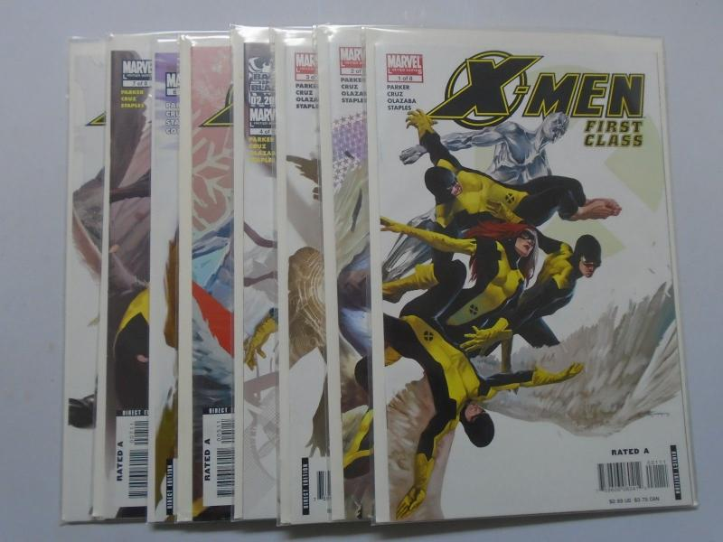 Marvel Limited Series X-Men First Class (2nd series) SET #1-8 8.0 VF (2006)