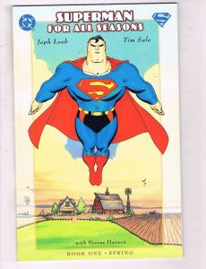 Superman For All Seasons Books # 1 & 3 NM Copies Fall & Spring DC Comic Book JH9