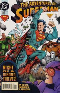 Adventures of Superman #520 VF/NM; DC | save on shipping - details inside