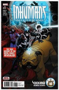 Inhumans Once Future Kings #1 (Marvel, 2017) NM