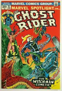 MARVEL SPOTLIGHT#8 FN/VF 1973 GHOST RIDER MARVEL BRONZE AGE COMICS