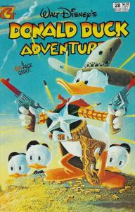 Donald Duck Adventures (Gladstone) #28 FN; Gladstone   save on shipping - detail