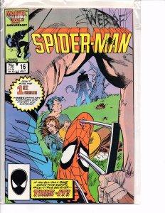 Marvel Comics (1985) Web of Spider-man #16 Marc Silvestri Art