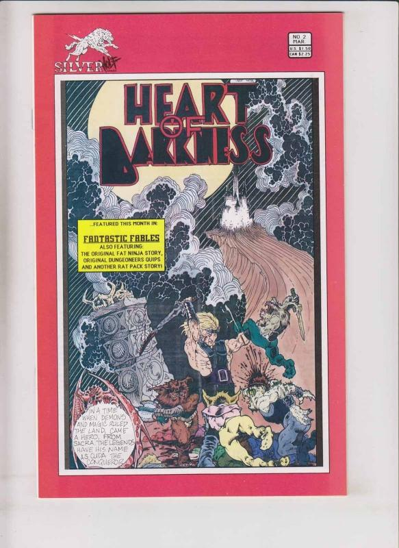 Fantastic Fables #2 VF/NM tim vigil's heart of darkness - first appearance cuda