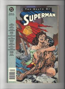 Death Of Superman TPB  2nd Printing Vs. Doomsday NM