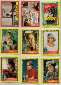 Harry and The Hendersons/Alf Trading cards