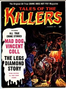 Tales Of The Killers #10 comic mag 1970-1st issue-Legs Diamond-Mad Dog-Frazetta