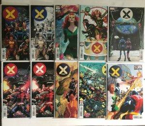 X-Men 1 2 3 4 5 6 7 + Variants Dawn of X 20 Book Lot