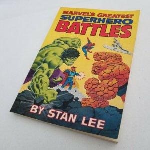 MARVEL'S GREATEST SUPERHERO BATTLES Comic Book by Stan Lee - Romita (1st P) 1978