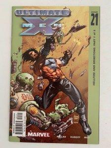 Ultimate X-Men #21 Hellfire & Brimstone Part 1 (2001 Marvel Comics) NM