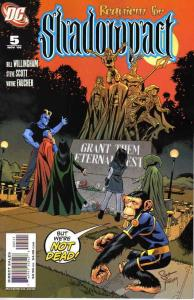 Shadowpact #5 VF; DC   save on shipping - details inside