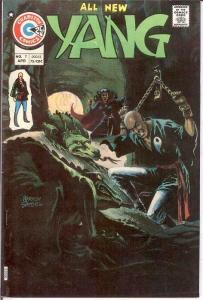 YANG (1973-1976 CH) 7 VF April 1975 COMICS BOOK