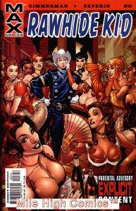 RAWHIDE KID (2003 Series)  (MARVEL MAX) #3 Fine Comics Book