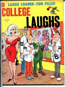 College Laughs 10/1964-Marvel-Vic Martin-Orehek-Severin-Wenzel-Wyma-VG