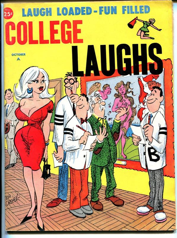 College Laughs 10/1964-Marvel-Vic Martin-Orehek-Severin-Wenzel-Wyma-VG