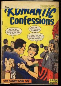 ROMANTIC CONFESSIONS #7-1950-HILLMAN GOLDEN AGE G