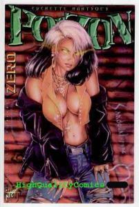 POIZON #0, VF, London Night Studios, Hartsoe, Femme Fatale, 1996, more in store