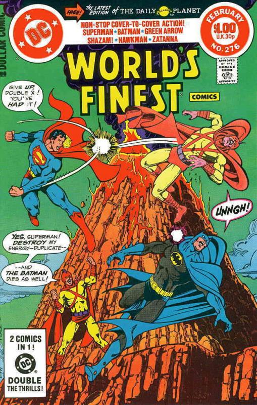 World's Finest Comics #276 VF/NM DC - save on shipping - details inside