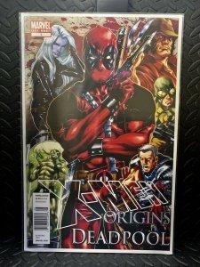 X-Men Origins: Deadpool #1  | Comic Book Cover Replica | 11x17 Poster