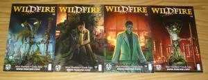 Wildfire #1-4 VF/NM complete series - image comics - top cow - matt hawkins 2 3