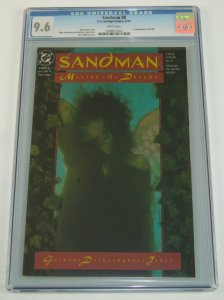Sandman #8 CGC 9.6 white pages - 1st appearance of Death - neil gaiman dc 1989