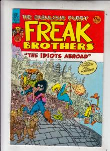 Fabulous Furry Freak Brothers #8 (Jan-84) VF/NM High-Grade The Freak Brothers...