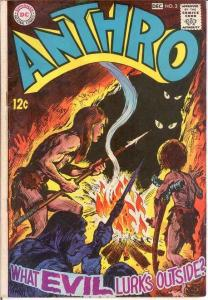 ANTHRO (1968) 3 GOOD  Nov.-Dec. 1968 COMICS BOOK