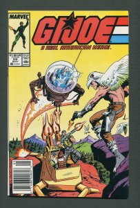 G.I. Joe #59 /  8.0 VFN  /  Newsstand  May 1987