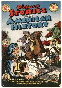 Picture Stories From American History #2 1945- EC Comics VF-
