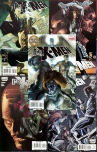 DARK X MEN (2010) 1-5  complete series!