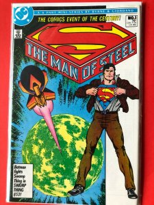 SUPERMAN THE MAN OF STEEL #1 1986 DC /  / HIGH QUALITY