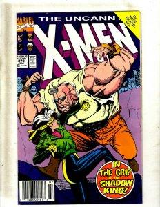 11 Uncanny X-Men Comic Books # 278 279 280 281 283 284 285 286 287 288 289 HY5