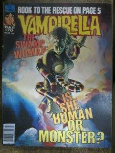 VAMPIRELLA #70 (Warren,7/1978) VERY GOOD (VG) The Rook! The Swamp Woman!