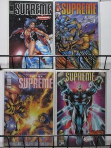 SUPREME (Image, 1993) #33-36 VF-NM 'Changes' pt 1-4 complete! Intro Lady Supreme