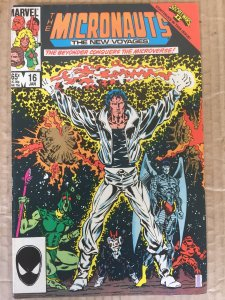Micronauts: The New Voyages #16 (1986)