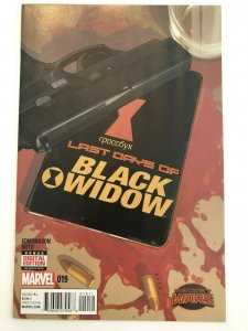 Last Days of Black Widow (2014 Series) #19 Edmondson, Noto Secret Wars NM