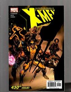 Uncanny X-Men # 450 NM Marvel Comic Book 1st Print Wolverine X-23 Gambit SM19